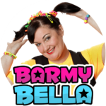 Birthday Party entertainer, Sheffield Magician and children's entertainer Barmy Bella smiling