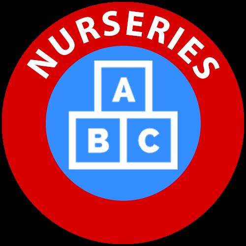 Nurseries icon for children's entertainer services