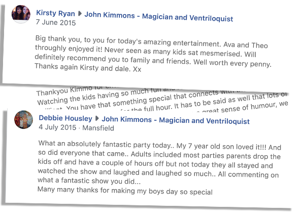 A few review screenshots for Kimmo Children's entertainer Matlock