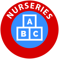 Nurseries icon for children's entertainer services