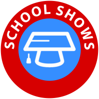 School shows icon for children's entertainer services